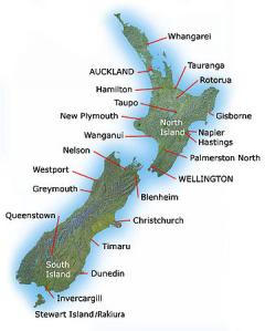 New Zealand Provinces Map.New Zealand Bed Bug Reports National Bed Bug Registry Database